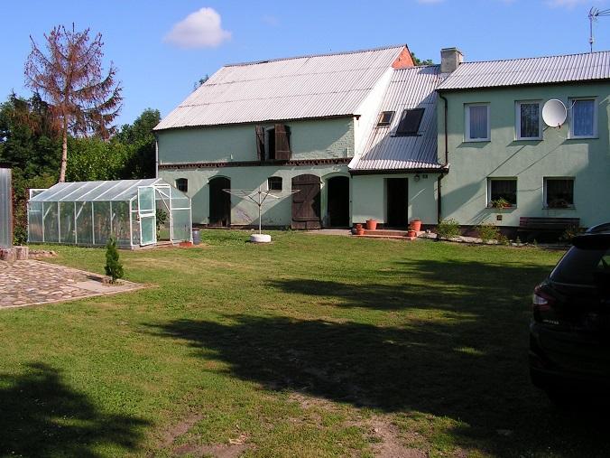 sprzedaż | dom z budynkiem gospodarczym | Karwowo 31 km od Świdwina