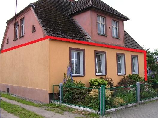 sprzedaż | parter domu  | Bierzwnica 11 km od Świdwina