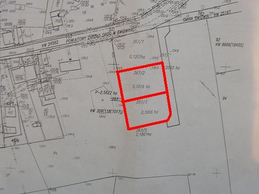 sprzedaż | działki budowlane  | LEKOWO 10 km od Świdwina