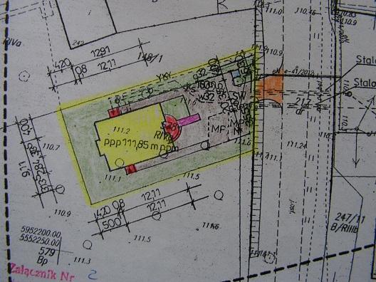 sprzedaż | działka budowlana z rozpoczętą budową domu| Brzeźno10km od Świdwina