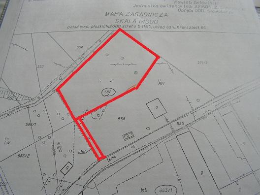 sprzedaż | działka budowlana ogrodzona | Sławoborze 15km od Świdwina
