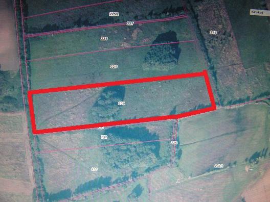 sprzedaż | grunt orny  | Rusinowo 13 km od Świdwina