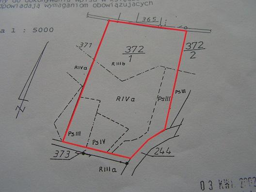 sprzedaż | grunty orne  | Rusinowo 13 km od Świdwina