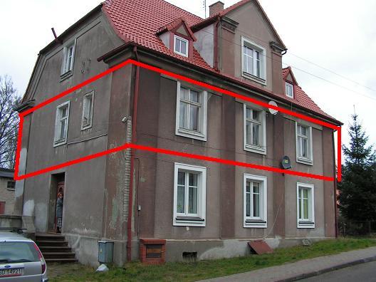 sprzedaż | mieszkanie 4 pok. Ip. w kamienicy | Świdwin ,ul.: Polna 8