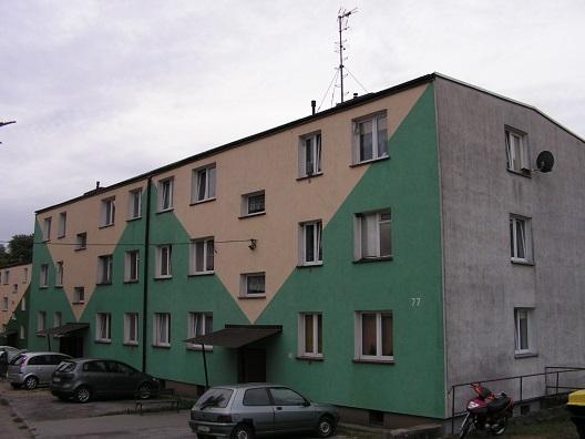 sprzedaż | mieszkanie w bloku 2 pokoje , II piętro | Rąbino 20 km od Świdwina