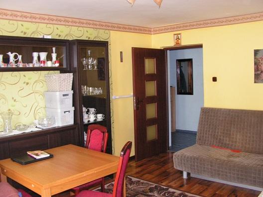 sprzedaż | mieszkanie z tarasem 2 pokoje , I piętro | Bystrzynka 5 km od Świdwina