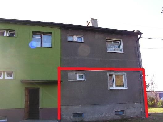 sprzedaż | mieszkanie w bloku 3 pokoje ,parter |Paszęcin 20 km od Świdwina