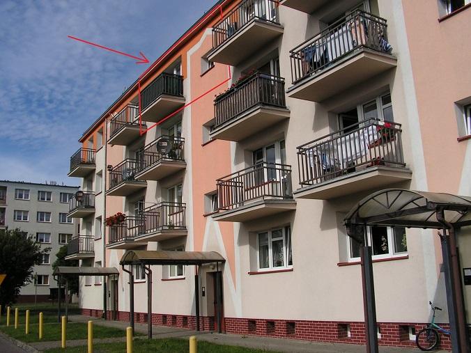 sprzedaż | mieszkanie w bloku 2 pokoje , III piętro | Świdwin , ul.Szturmowców 2